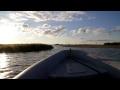 Entering Karlstad harbor in 45+ knots