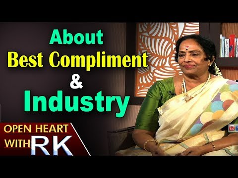 Senior Actress K R Vijaya about Best Compliment & Industry | Open Heart with RK