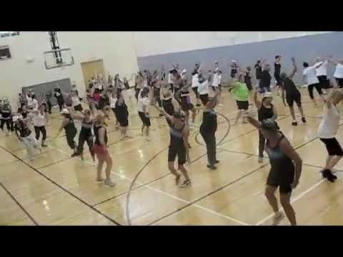 Zumba For 1 Goal Shakira's Waka Waka Choreo By Michelle video