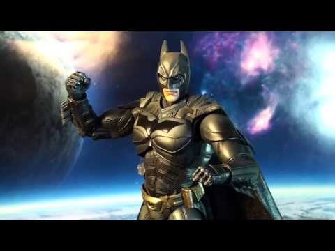 R265 Square Enix Play Arts Kai Dark Knight Trilogy Batman Review