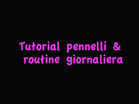 Makeup REVIEW Pennelli + routine