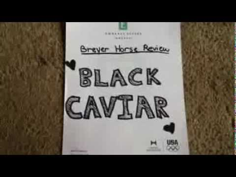 Breyer Horse Black Caviar Breyer Horse Review | Black
