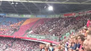 AJAX - PAOK (SFEERIMPRESSIE/CHANTING)