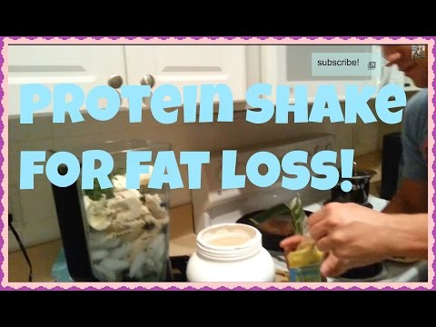 PROTEIN SHAKE FOR FAT LOSS AND MUSCLE GAINS!
