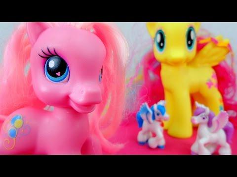 Мультик с игрушками - Пони ищут волшебный подарок