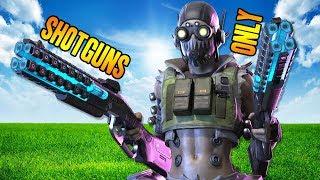 SHOTGUNS ONLY CHALLENGE w/ WILDCAT & NOGLA!!! - Apex Legends Season 1 Gameplay