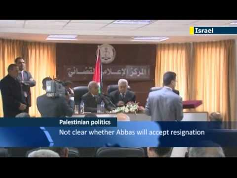 Palestinian PM Rami Hamdallah offers resignation just two weeks after taking office