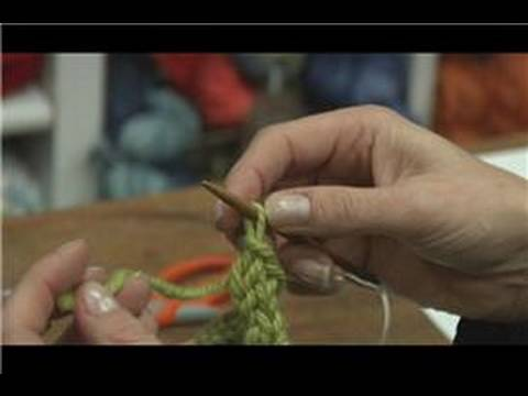 How To Cast Off Stitches When Knitting : Knitting Tips : How to Cast Off in Knitting - YouTube