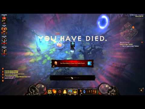 Diablo 3 PTR PVP 1.07 Monk Dueling with a stormshield 1080p