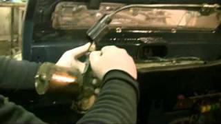 landrover 110 200tdi 300tdi td5 bulkhead how to change and fitting instructions and guide pt19