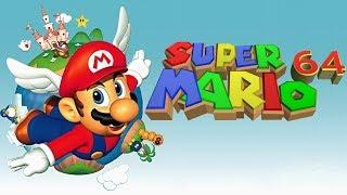 Speedrun Super Mario 64 - 16 Estrellas (Mostrando el recorrido)
