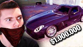 ROUBEI O CARRO de 1 MILHÃO!!! - Thief Simulator
