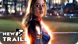 AVENGERS 4: ENDGAME Captain Marvel Spot & Trailer (2019)