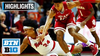 Highlights: Scarlet Knights Down Hoosiers | Indiana at Rutgers | Jan. 15, 2020