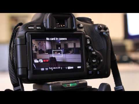 Video Mode and Camera Settings for Canon t3i
