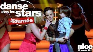 Alizée en nounou attentionnée - Danse Avec Les Stars - Nice - 28.01.2017 - Vidéo 4K