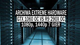 GTX 1060 vs R9 290X   1080p, 1440p   7 GAMES