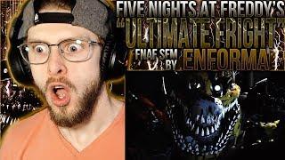 "Vapor Reacts #847   [FNAF SFM] FNAF UCN SONG ANIMATION ""Ultimate Fright"" by Enforma REACTION!!"