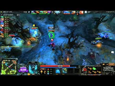 Titan vs MVP Phoenix Game 2 - BenQ ALL-STAR Showmatch @TobiWanDOTA @DotaCapitalist