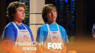 Troy & Alexander's Beef Wellington | Season 1 Ep. 3 | MASTERCHEF JUNIOR