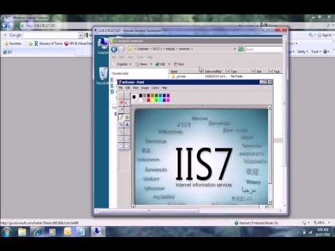 0 website design, IIS 7,  windows 2008 server