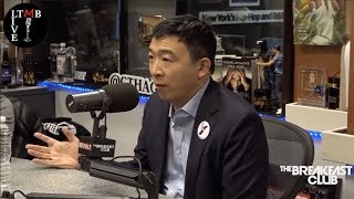 Andrew Yang Shines on The Breakfast Club