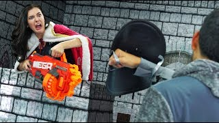 NERF Defend Your Castle Challenge! [Ep. 2]