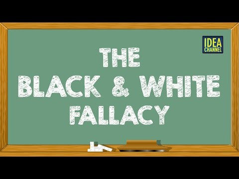 The Black and White Fallacy Idea Channel PBS Digital Studios