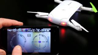 How to Fly a Drone Quad with Phone using WiFi UFO or Wifi FPV App