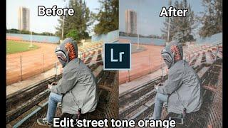 Edit foto tune orange menggunakan Adobe Lightroom di Android/hp