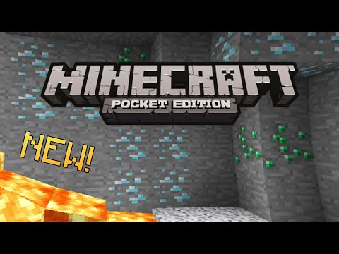 DIAMONDS EMERALDS SEED Minecraft Pocket Edition 0.9.0 New