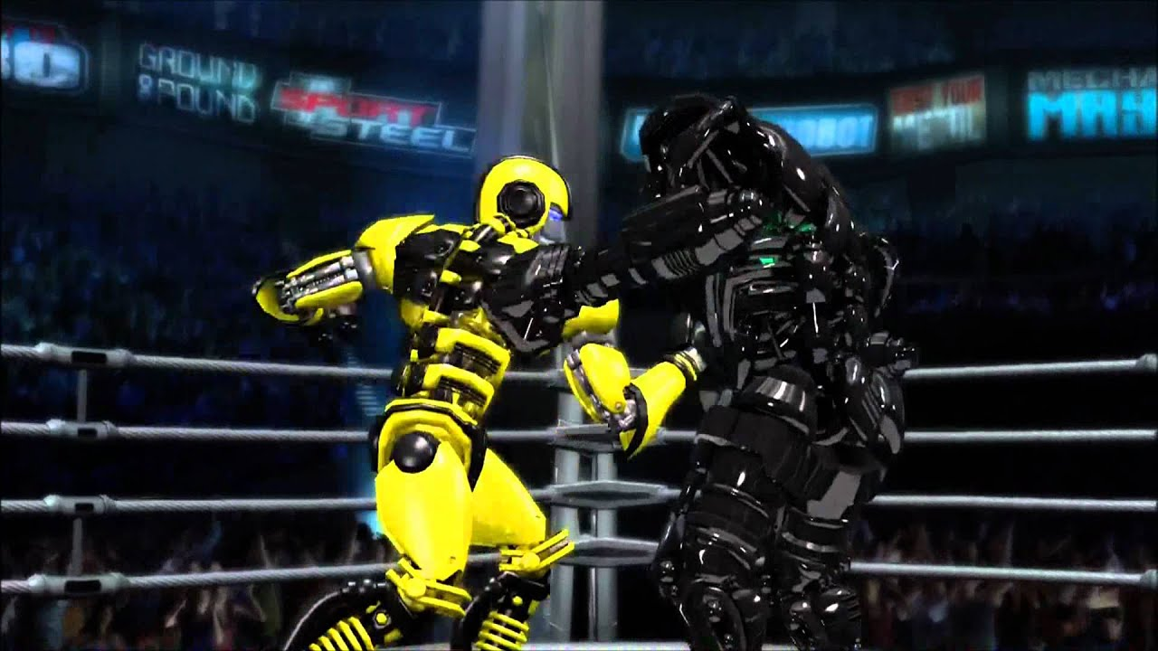 Real Steel Pictures Real Steel:bumble Bee vs