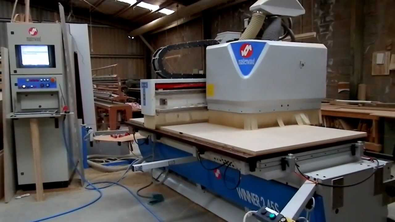 Masterwood Winner 2 45s Cnc Point To Point Router Youtube