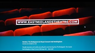 Suggestions on how to write a theatre review
