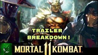 NEW Mortal Kombat 11 Trailer *BREAKDOWN*
