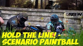 Scenario Paintball - Hold The Line