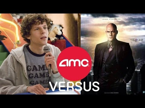 AMC VERSUS - Is Jesse Eisenberg The Right Choice For Lex Luthor?