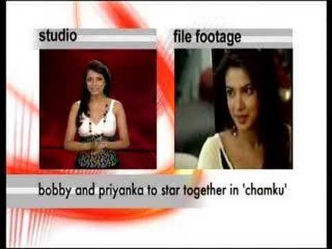 Bobby Deol, Priyanka Chopra in Chamku