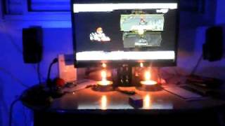 Candle sensor bar @ Dolphin wii emulator