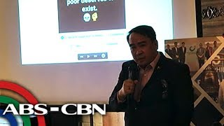 Palace communications official says he's against criminal libel