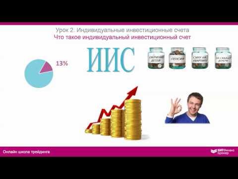 ИИС: индивидуальный инвестиционный счет