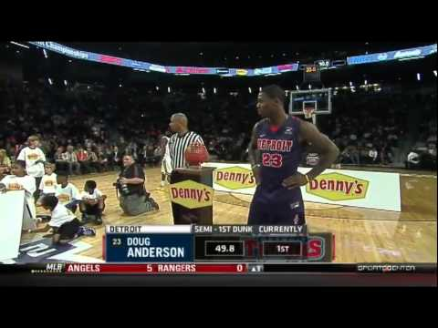 2013 State Farm Slam Dunk Contest - Doug Anderson