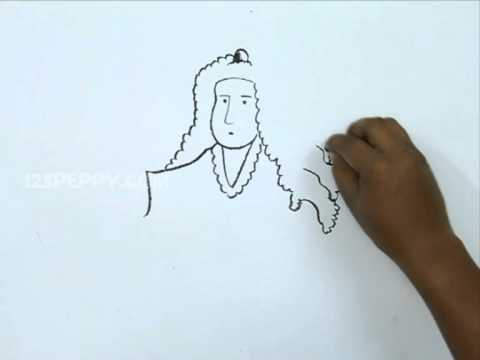How to Draw Sir Isaac Newton