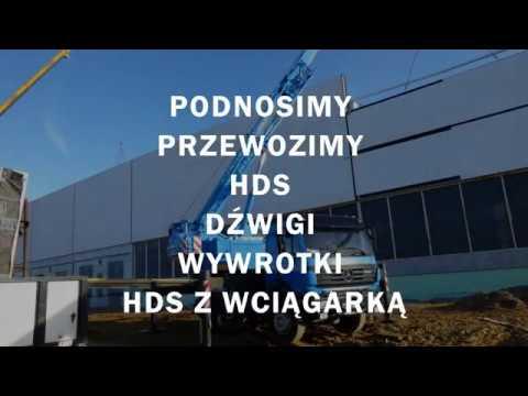 Transport HDS Dźwigi Samojezdne Legionowo Dark-Trans
