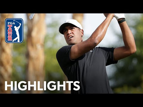 Tony Finau shoots 10-under 62 | Round 2 | The American Express 2020