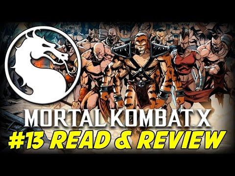 Mortal Kombat X #13 Cold Nights (read & Review) video