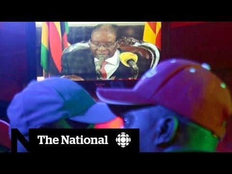 Zimbabwe's Robert Mugabe resists resignation amid political turmoil