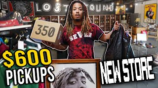 BUYING SOLD OUT SNEAKERS AT A NEW SNEAKER STORE !!! SNEAKERS , THRIFTING , DECOR , AND MORE !