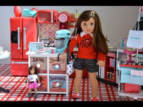 American Girl Doll Grace Thomas Kitchen ~goty 2015~ Hd Watch In Hd!