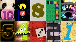 Countdown Numbers from 10 (Episode 3 - Pacman, Lego & More)